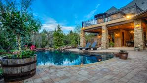aquascapes pools services provided by oklahoma city outdoor living pool builder