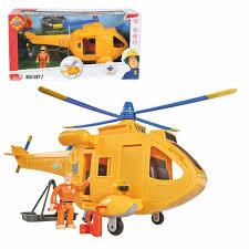 simba 109251002 fireman sam wallaby ii helicopter ebay