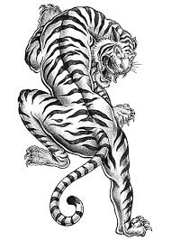 free tiger coloring print coloring pages craftfoxes