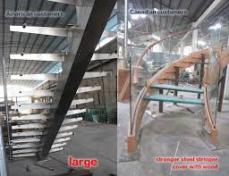 Metal Stairs Design Glass Staircase Price Used Metal Stairs Indoor Glass Stairs