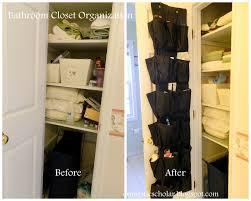 domestic scholar bathroom closet organization or novel uses for