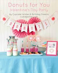 Valentine S Day Birthday Decor by Cupcake Wishes U0026 Birthday Dreams Donuts For You Valentine U0027s Day Party