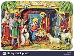 christmas nativity scene small paperboard nativity scene
