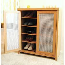 Closet Door Shoe Storage Two Door Shoe Cabinet Closet Storage Shoe Storage Design Ideas
