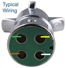 4 pin trailer plug wiring diagram circuit and schematics diagram