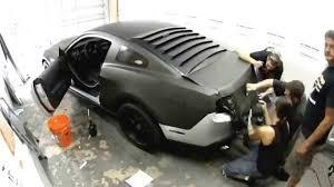 matte flat black vinyl car wrap sticker decal sheet film bubble free ford mustang matte flat black wrap 3m vinyl seamless fort