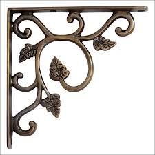 Wood Shelf Brackets Decorative Furniture Marvelous Wrought Iron Countertop Brackets Wood