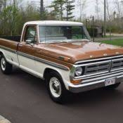 ford f250 1972 1972 f250 camper special ford up truck for sale photos