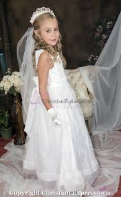 1st communion dresses communion dress with lace overlay and sash