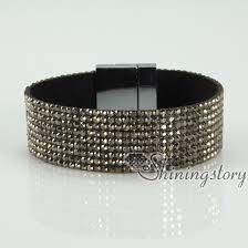 rhinestone buckle bracelet images Blingbling shiny crystal rhinestone magnetic buckle wrap slake jpg