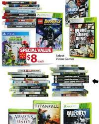 walmart wii u black friday deals walmart black friday 2015 ad video game deals start at 8