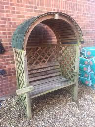garden arbour arch bench trellis in fareham hampshire gumtree