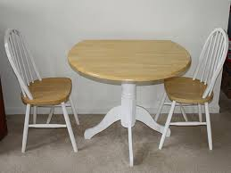 Folding Bistro Table And 2 Chairs Small Round Kitchen Table Sets