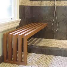 Bathtub Bench Seat Cedar Shower Bench With Window Glass Bathrooms Pinterest Bathtub