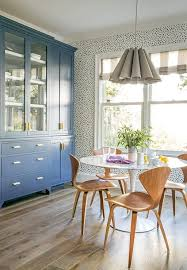 Dining Room Sets With China Cabinet Blue Dining Room China Cabinets With Antique Brass Pulls