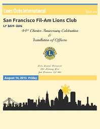 Death Anniversary Invitation Card District 4 C4 Club Events