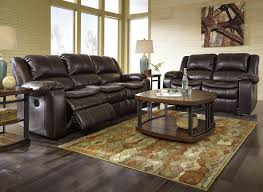 Ashley Furniture Dealer Login Faux Leather Reclining Power Sofa With Contoured Pillow Top Seats