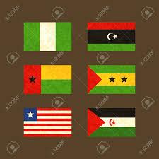 Libyas Flag Flags Of Nigeria Libya Guinea Bissau Sao Tome And Principe