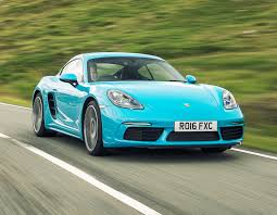 teal porsche porsche 718 cayman coupe review 2016 parkers