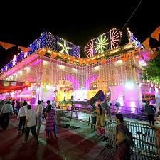 How To Decorate Janmashtami At Home A View Of Decorated Govind Dev Ji Temple In Jaipur Janmashtami