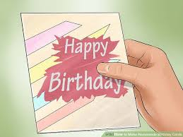3 ways to make homemade birthday cards wikihow