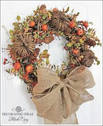 wreaths for fall learn to make a wreath