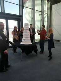 most expensive wedding cake valued at 52 million is covered in