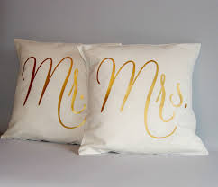 mr and mrs pillows sweet ideas mr and mrs pillows set buzzard