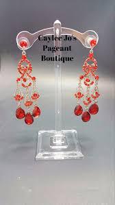 dramatic earrings dramatic chandelier earrings 3 4 caylee jo s pageant