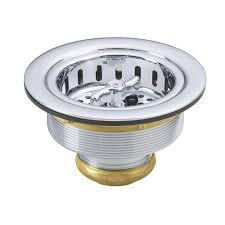 Westbrass  In Brass Wing Nut Style Kitchen Sink Strainer - Kitchen sink strainer
