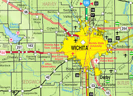 Topeka Zip Code Map by Cheney Kansas Wikipedia