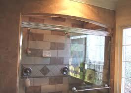 Arched Shower Door Bathroom Remodeling Fairfax Burke Manassas Va Pictures Design Tile