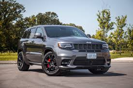 bmw jeep 2017 review 2017 jeep grand cherokee srt canadian auto review