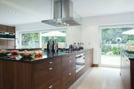 wood kitchen cabinets with grey walls which color can match best with the brown cabinets in your