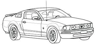 free coloring pages of mustang cars enchanting mustang coloring page coloring pages ford mustang car
