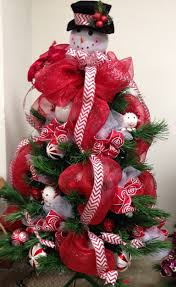 christmas tree deco mesh christmas ideas pinterest