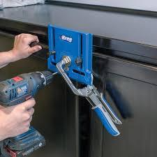diy kitchen cabinets kreg kreg cabinet hardware jig khi pull the home depot
