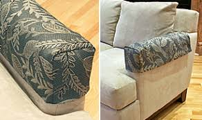 slipcovers for chairs with arms custom made armrest covers sofa arm slipcovers and