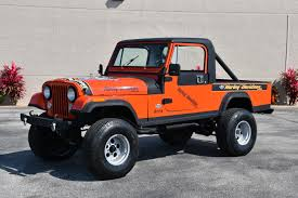 classic jeep renegade used 1984 jeep cj 8 scrambler renegade v8 4spd venice fl for