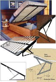 Platform Bed Diy Storage by Bed Diy Storage Bed Frame Home Interior Design