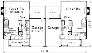 two storey duplex house plans home design and style