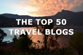 the top 50 travel blogs