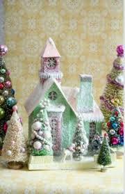 782 best glitter houses images on pinterest christmas villages