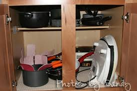 Organizing Pots And Pans In Kitchen Cabinets Kitchen Organization Pots And Pans Decorating Clear