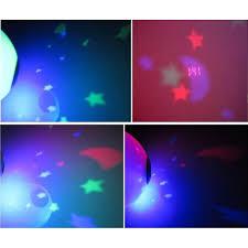 night light alarm clock hhtl alarm clock projector new 7 colors led change star magic night