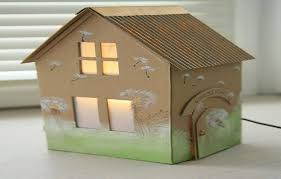 photo miniature house plans images cardboard dollhouse