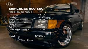 mercedes uk dealers mercedes 500 sec wheeler dealers