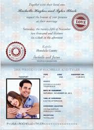 Free Sample Wedding Invitations 15 Passport Invitation Templates U2013 Free Sample Example Format