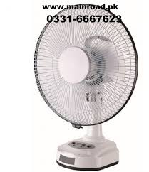 rechargeable fan online shopping buy best quality blue deep 12inch rechargeable fan at mainroad pk