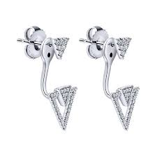 diamonds earrings diamond arrow two earrings diamonds